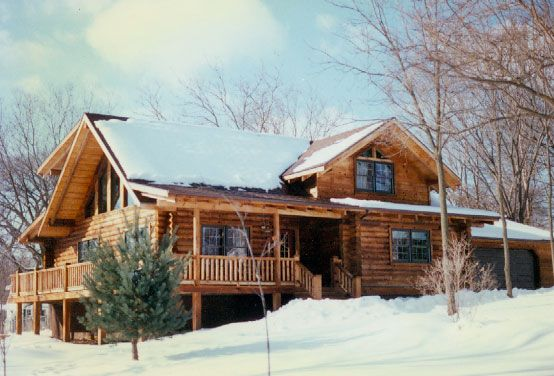 Log Cabin Love Wrap Around Porches Home Improvements