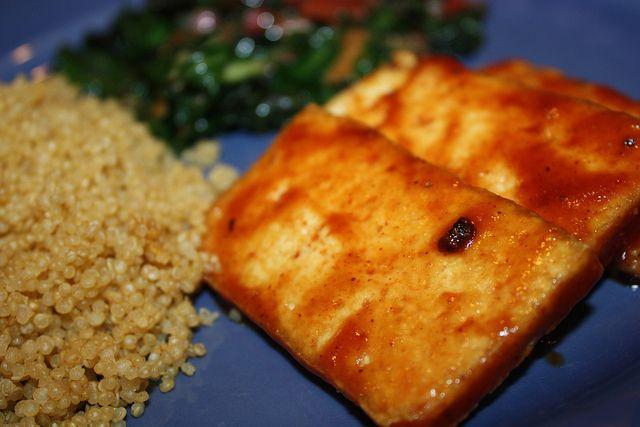 bbq tofu by Gourmet Veggie Mama, freezer friendly