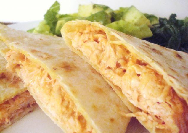 Healthy Chicken Quesadillas | Food | Pinterest