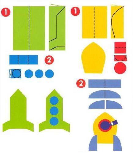 3d аппликация из бумаги «Собачка» для детей 5-8 лет. Шаблоны
