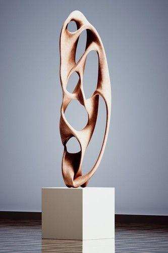 Contemporary sculpture 3d design pinterest - Statue moderne design ...