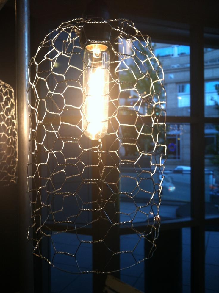 Chicken wire lamp shade chicken wire lamp shade rustic diy inspiration pinterest keyboard keysfo Gallery