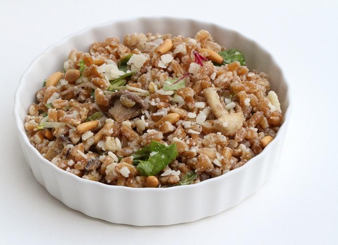 Mushroom Farro Salad | Food | Pinterest
