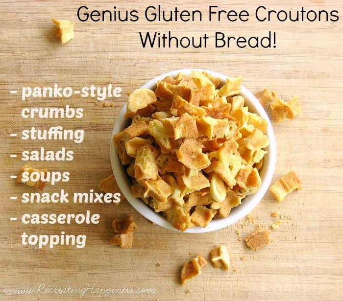 Homemade Gluten Free Croutons or Panko Style Breadcrumbs | Recipe