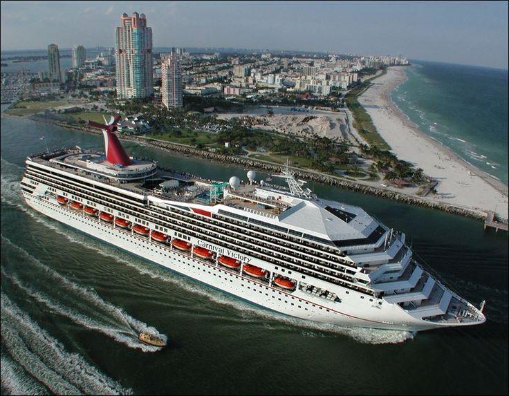 Cruise Ship Leaving Miami  Cruising The World  Pinterest
