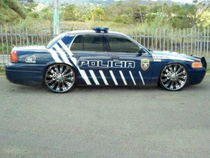 policia de puerto rico hot rods hot cars pinterest. Black Bedroom Furniture Sets. Home Design Ideas