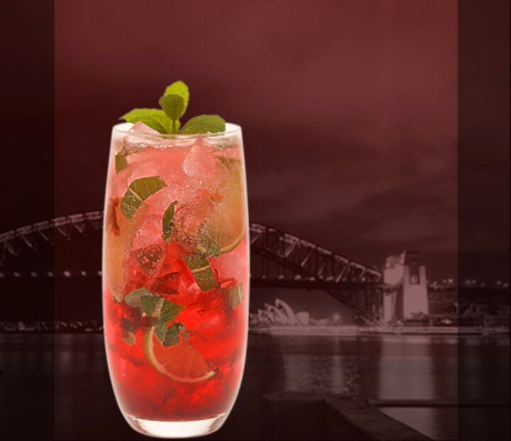WILD HIBISCUS MOJITO | Cocktails | Pinterest