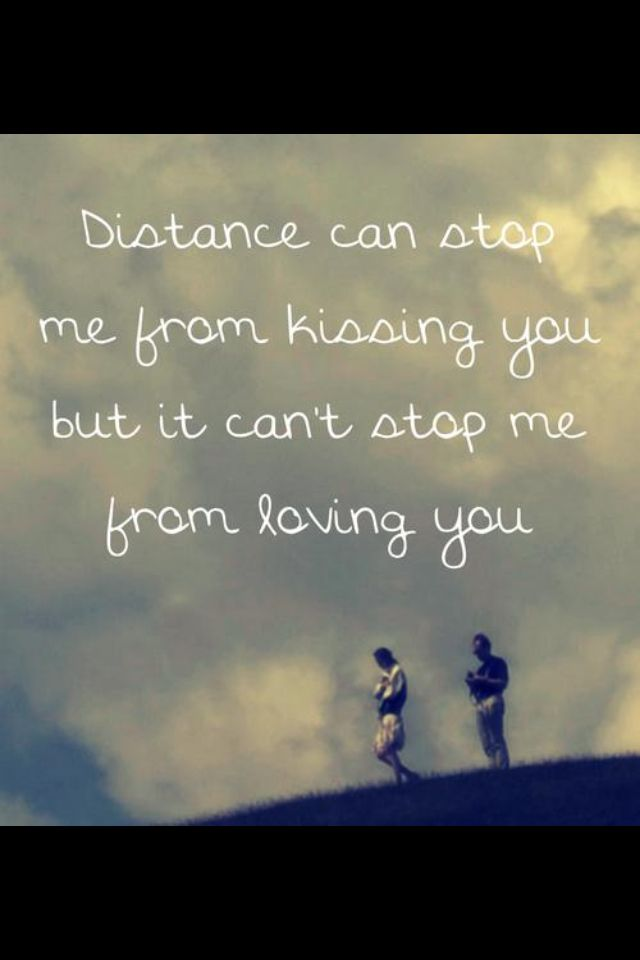 love knows no distance quotes