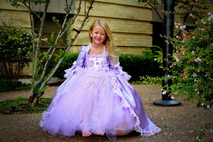 Rapunzel Costume - Halloween 2012 Collection by FabTutus, any size ...