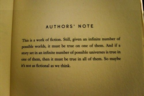 Authors' note