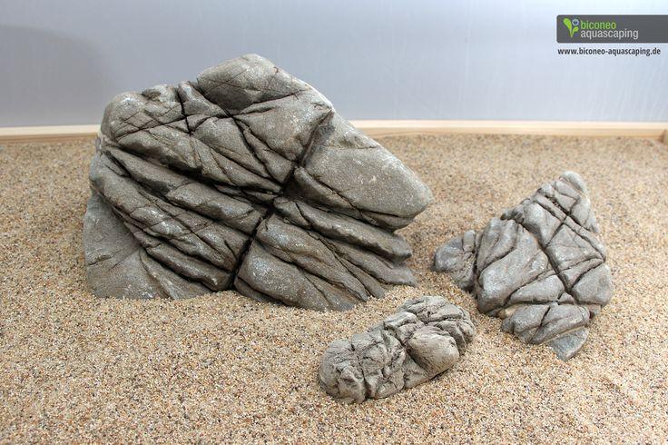 Steine) http://www.biconeo-aquascaping.de/aquarium-deko-steine ...