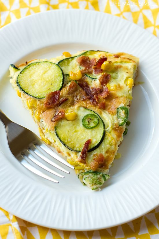 Spice up summer with this spicy zucchini frittata! It's loaded with ...