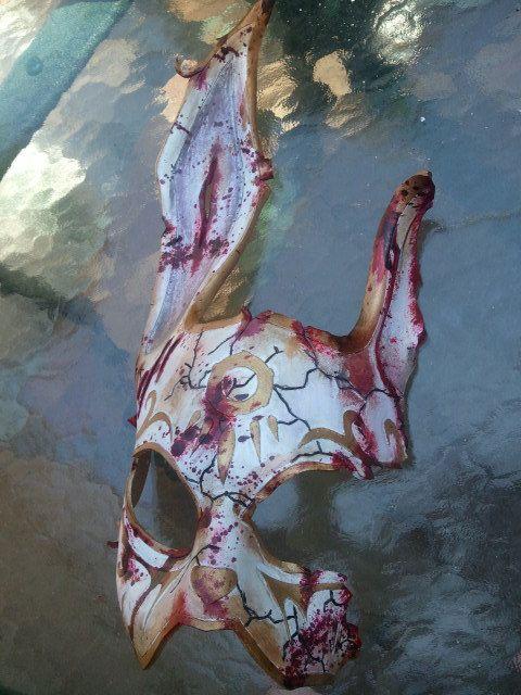 BioShock Splicer Rabbit Mask by SkinzNhydez on Etsy, $170.00