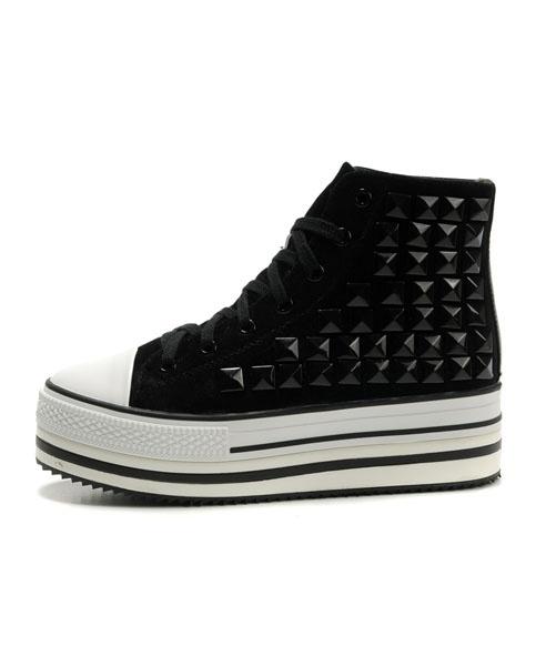 High Top Flatform Shoes