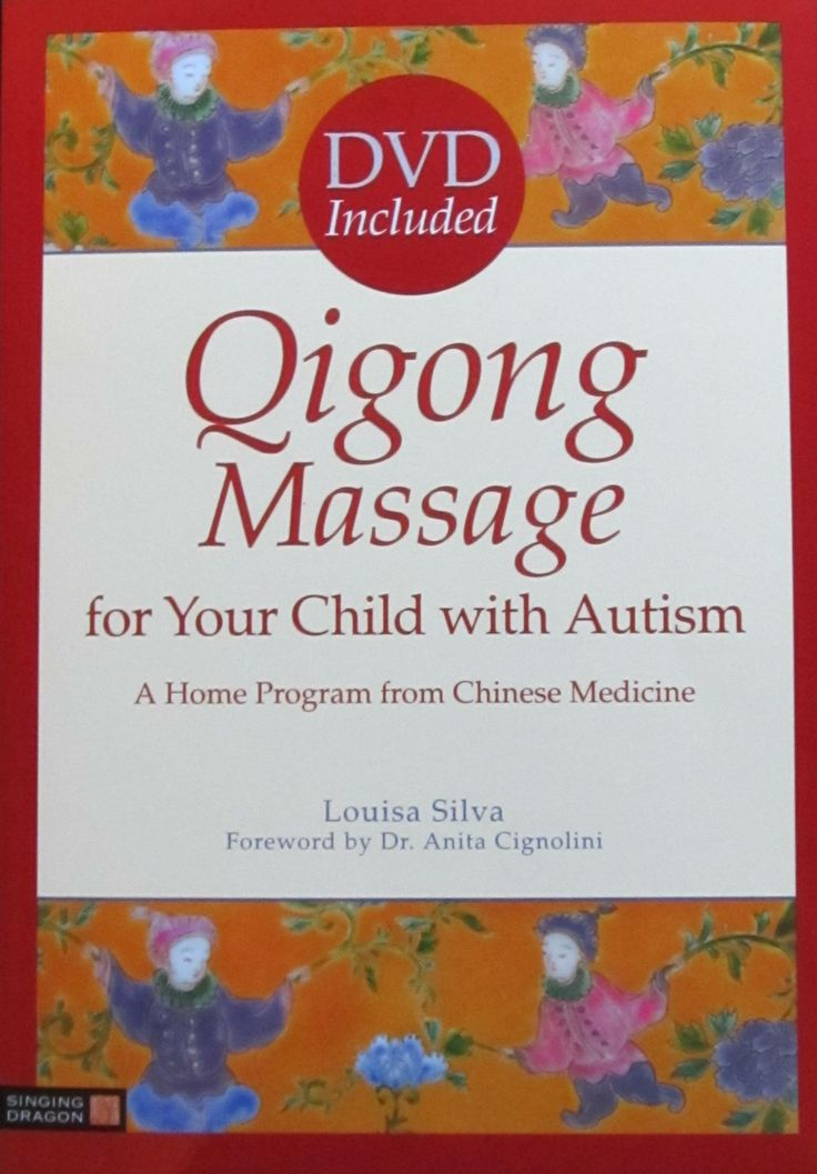 Book and DVD on early intervention for autism Qigong Massage