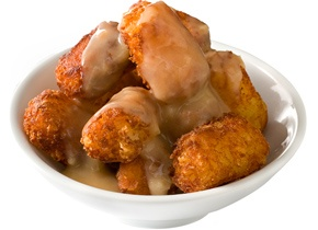 Cheesy Potato Tots and Gravyyyyyyyy | JJ's Waffles | Pinterest