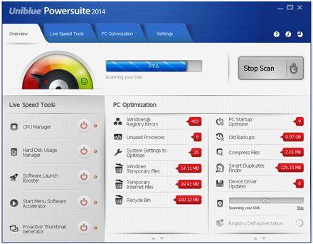 Uniblue powersuite 2014 full serials