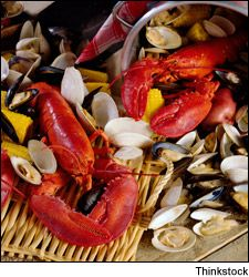 ... this week maybe tim and i will do a stove top clambake for two