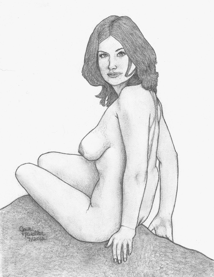 Famous nude cowgirl sketches think, you