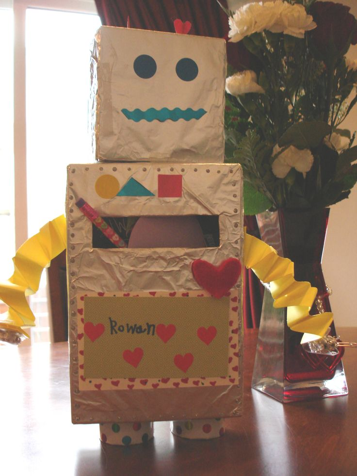 valentine's day card box holders