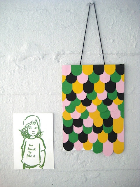 Wall Decor With Construction Paper : Construction paper glue crafty