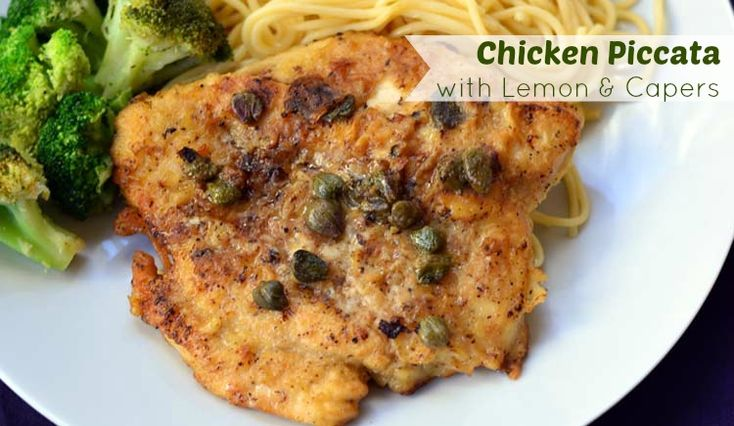 Chicken Piccata with Lemon & Capers using STAR Hojiblanca Extra Virgin ...