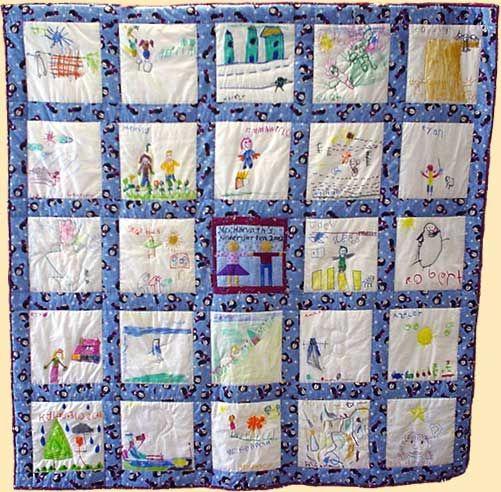 Classroom Quilt Ideas : Quilt stick to my strengths school class art