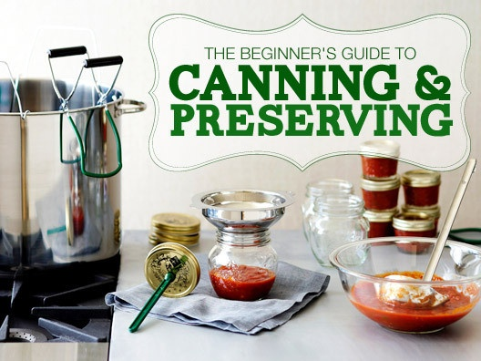 The Preservation Society: Canning & Preserving for the Fall