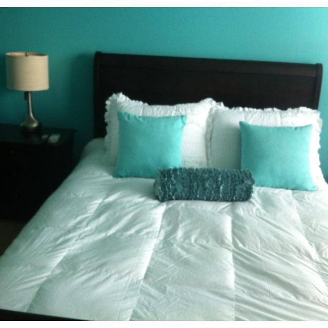 Tiffany Blue And White Bedroom Movinonouthomieee Pinterest