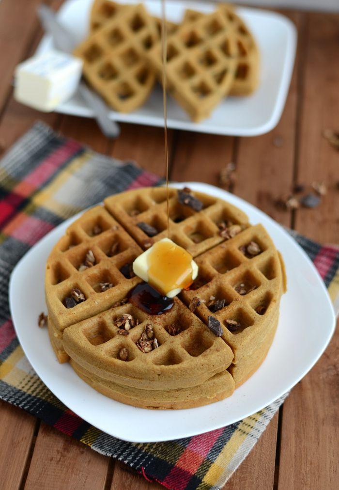 Gingerbread Waffles (Gluten Free) Recipe — Dishmaps