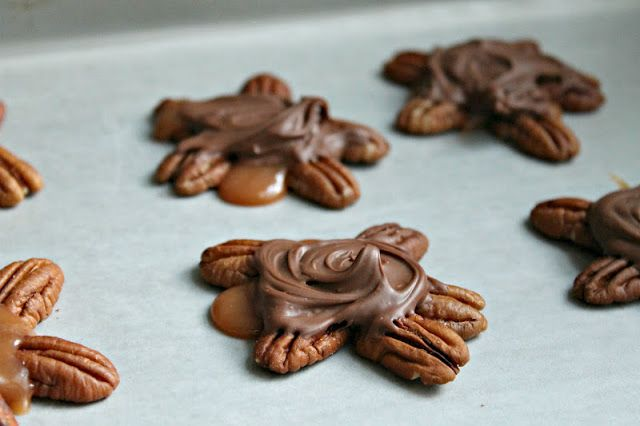 Chocolate-Covered Turtles with Bacon | Candy | Pinterest