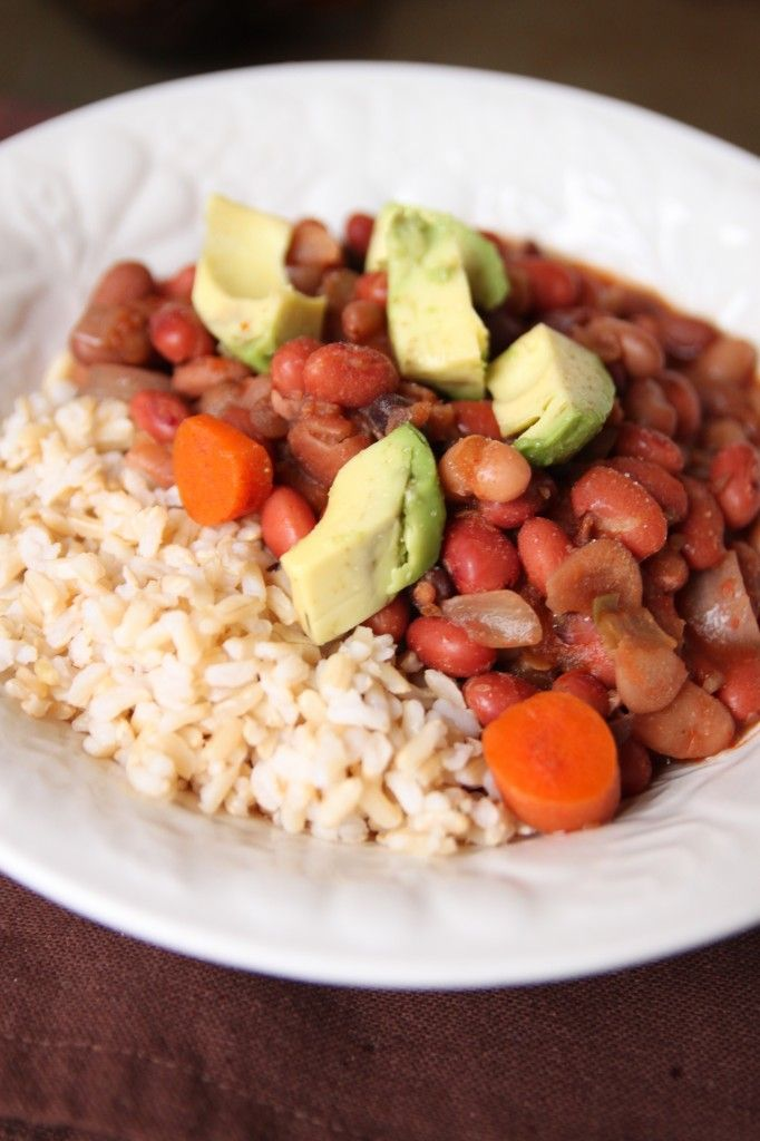 beans and rice | Favorite Recipes | Pinterest