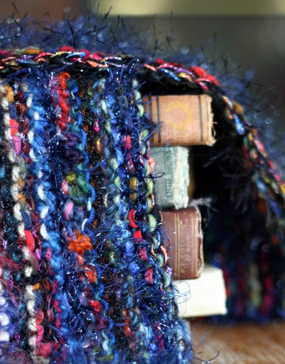 Americana Hand Knit Scarf