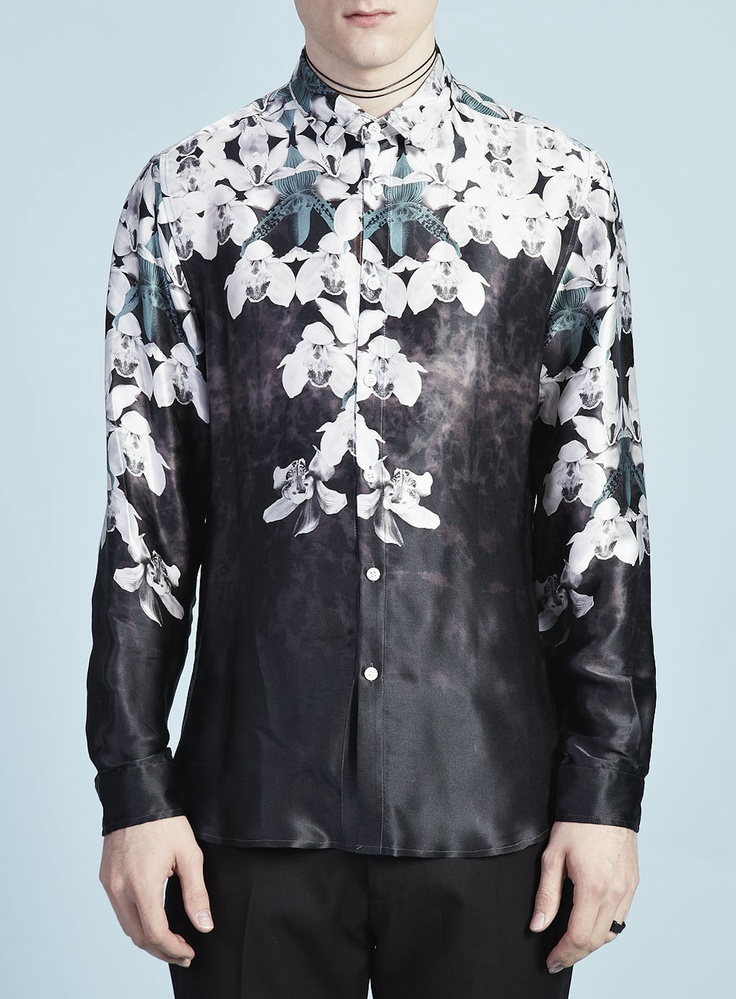 Silk Orchid Shirt | Topman Design