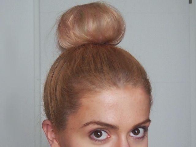 High Bun Tutorial