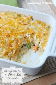 couponing amp cooking cheesy chicken amp brown rice casserole ...