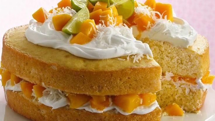 Mango Layer Cake   Recipe