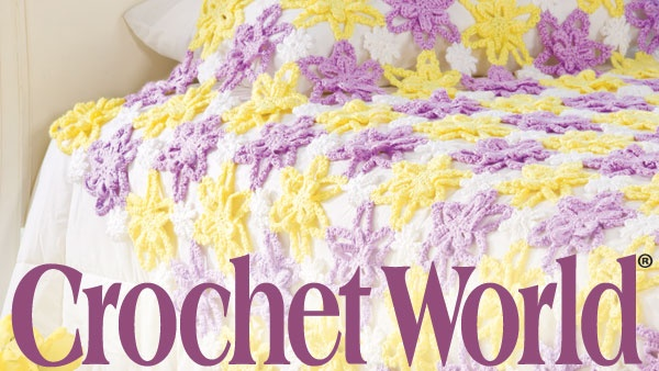Crochet World Magazine Knits, Knots and Stitches! Pinterest