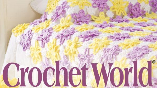 Crochet World Magazine : Crochet World Magazine Knits, Knots and Stitches! Pinterest