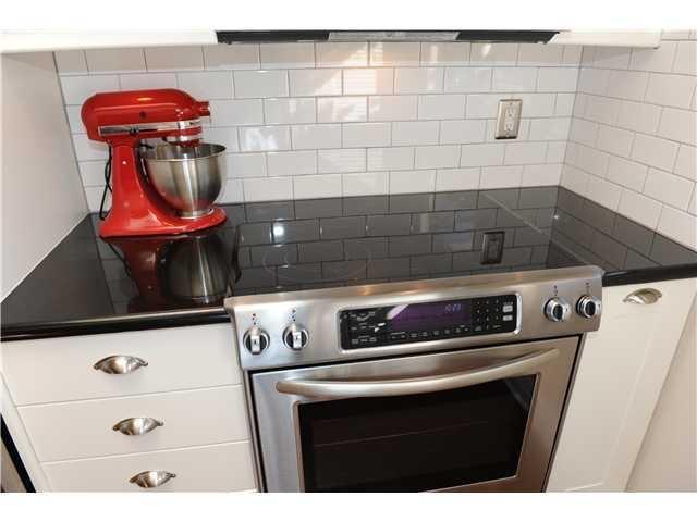 Tiny condo kitchen