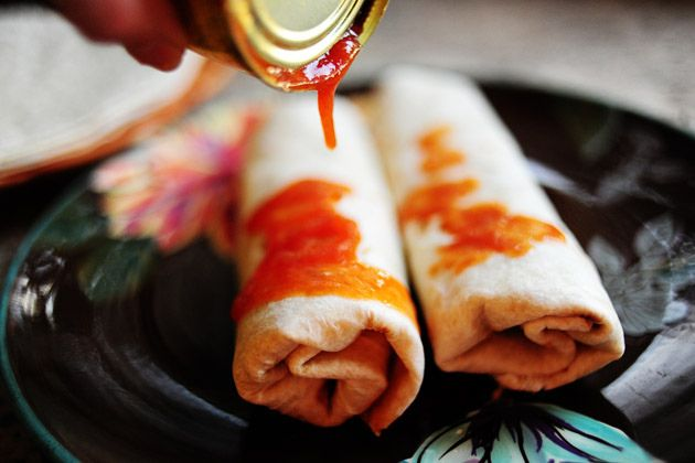 Pioneer Woman Burritos .. Made these tonight for dinner ... Used ...