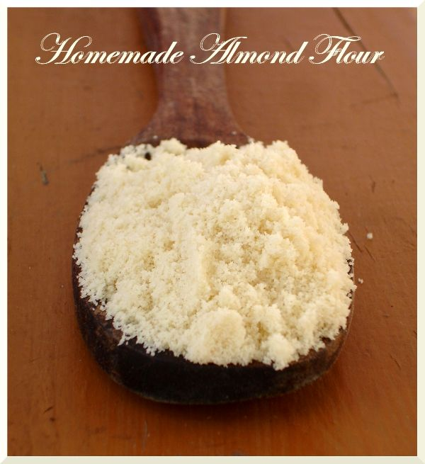 ... Platter: Back to Basics ~ How to Blanch Almonds & Hommade Almond Flour