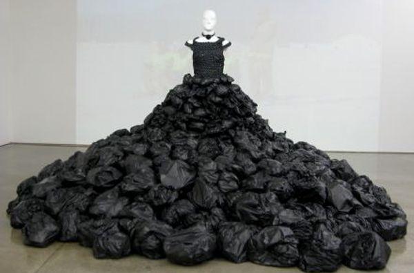 Bin Bag Dress Recycle Pinterest