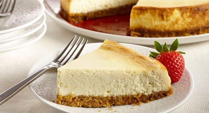 This classic New York-style cheesecake is rich and dense. Follow the ...