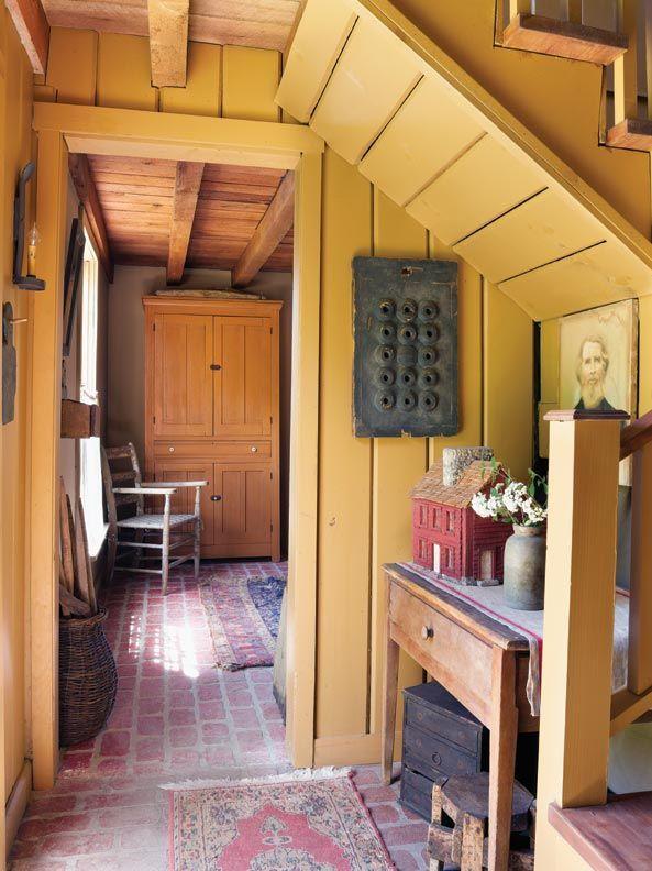 Rustic mustard | Rustic Homestead | Interiors | Pinterest