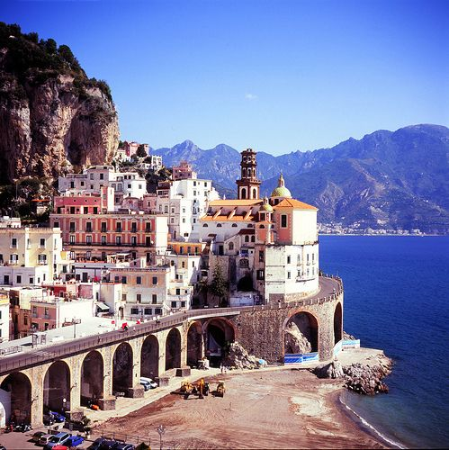 Seaside Village, Amalfi Coast, Italy