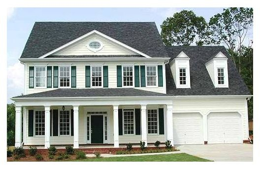 Southern Colonial Style Home Dream Home Pinterest