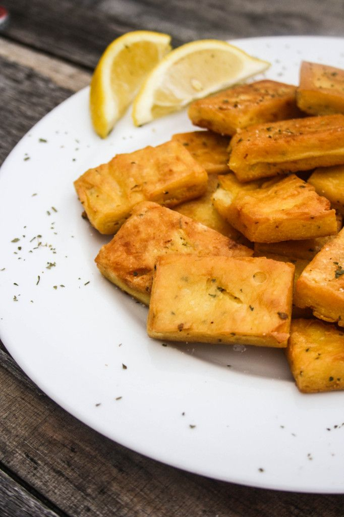 Panelle (Italian Chickpea Fritters) | meatless meals | Pinterest