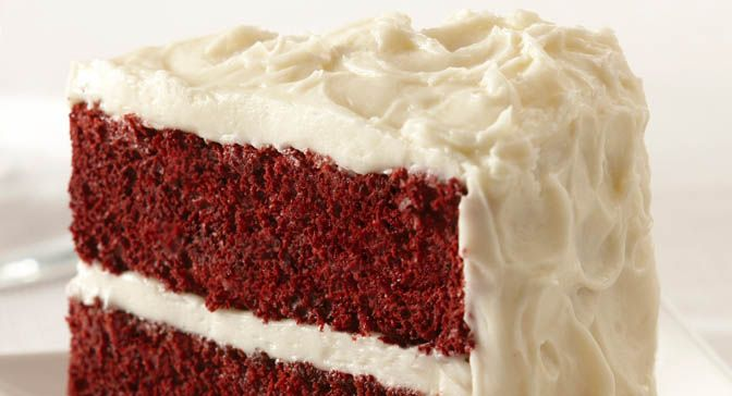 Our easy version of Red Velvet Cake starts with a cake mix and uses ...