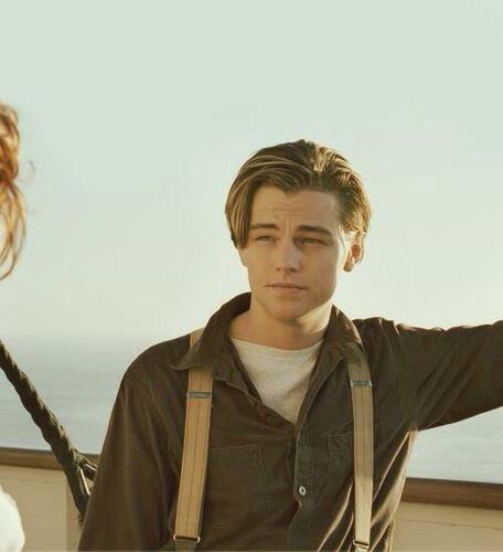 Gallery For > Titanic Leonardo Dicaprio Suspenders Leonardo Dicaprio Die